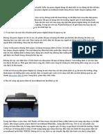 Shop bán đàn piano điện tử cũ uy tín, giá rẻ ở TPHCM