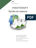 Calculo Recibo de Salario
