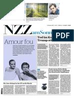 Gesamtausgabe NZZ Am Sonntag 2018-10-21