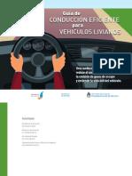 Guía de Conducción Eficiente Para Vehículos Livianos