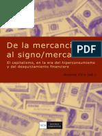 2009 - De La Mercancia Al Signo Mercanci