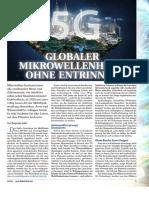 5G - Globaler Mikrowellenherd ohne Entrinnen