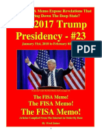 Trump Presidency 23 - January 31st, 2018 to February 6th, 2018