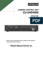 CU-UHD4000 E Letter4