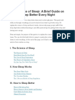 James Clear - The Science of Sleep_ a Brief Guide on How to Sleep Better Every Night