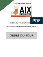 Conseil Municipal 20181109