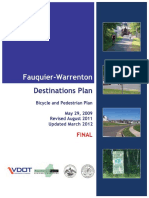 Fauquier Destinations (Trails) Plan