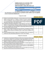 Tarea de Auditoria Acciones Con Eficiencia y Eficacia