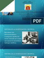 Historia de La Investigacion Cientifica (1)Anita Lulu Ketty Meli Carlota
