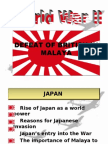 The Japanese Occupation Of Malaya
