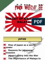 The Japanese Occupation Of Malaya