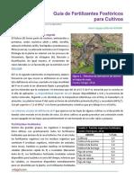 124. Guia de Fertilizantes Fosforicos Para Cultivos