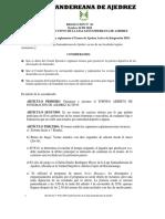 Resolucion 05 2018 Liajesan Reglamenta Torneo Integracion 3 Nov