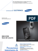 Manual Del Samsung Sgh e256