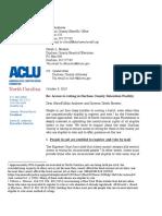Durham County PRR Letter