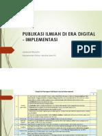 publikasi ilmiah di era digital