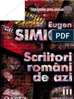 Simion Eugen - Scriitori romani de azi vol3 (Cartea).pdf