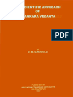 Scientific Approach of Shankara Vedanta