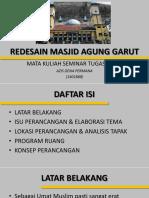 Redesain Masjid Agung Garut