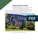La Cultura Organizacional de Google