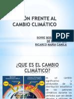 adaptación a cambio climático