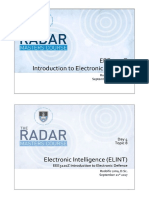 Introduction to Electronic Defence