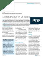 Lichen Planus in Children