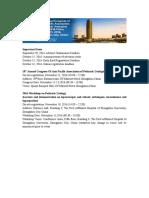 APAPU Congress Information