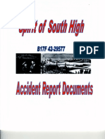 Spirit of South High Accident Report
