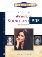 A to Z of Women in Science and Math (Notable Scientists) (2007)