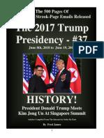 Trump Presidency 37 - June 8th, 2018 to June 19, 2018