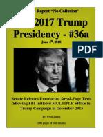 Trump Presidency 36a - Appendix