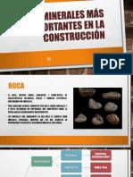 Rocas Más Importantes en La Construcción