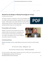 Should You Use Margin or Markup Percentage for Pricing_ • the Strategic CFO