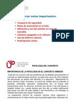 Clase 8 Patologia Del Concreto