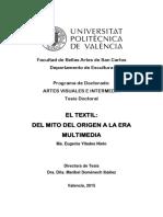 YLLADES - El Textil_ Del Mito Del Origen a La Era Multimedia.