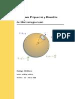 Problemas Propuestos y Resueltos de Electromagnetismo RChi