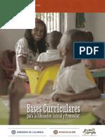 BASES CURRICULARES PARA LA EDUCACIÓN INICIAL Y PREESCOLAR.pdf