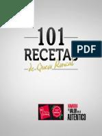 101 Recetas de Queso Roncal