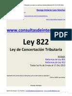2016-01-12 Ley 822 Con Sus Reformas - Revisión Nº 2 Al 2015-12-17