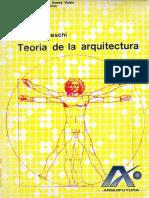 ▪⁞ Enrico Tedeschi - TEORIA DE LA ARQUITECTURA ⁞▪AF