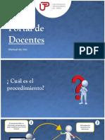 Manual de Actualización Grados Academicos y Experiencia Docente UTP