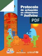 Protocolo Actuación en situaciones de Bullying