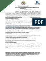 Términos y Condiciones Diplomado en Gestión Pública