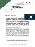 Analisis Lahan Kritis Dan Arahan Rehabilitasi Lahan