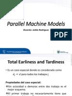 3. Maquinas en Paralelo y Multiples Objetivos