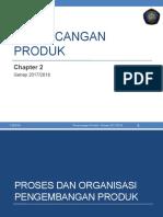 2 Proses Dan Organisasi Pengembangan Produk