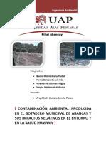 165273097 Contaminacinambientalenelbotaderomunicipaldeabancay2 120805191508 Phpapp02 1