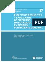 Ejercicios Resueltos y Explicados de Circuitos Monofasico