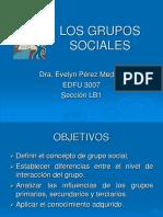 Grupos - Sociología
